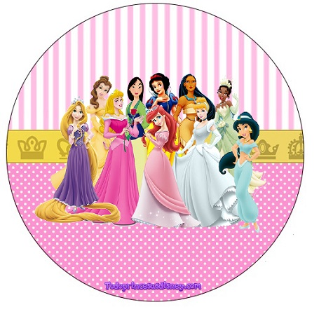 etiqueta-redonda-o-topper-de-princesas-disney